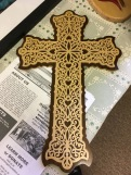 Cross for sale to support Nigerian Well Mission